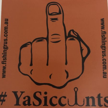 MINI #YASICCUNT STICKERS