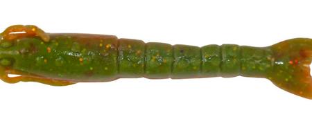 BERKLEY GULP! RED GREEN SHRIMP 2IN 5CM