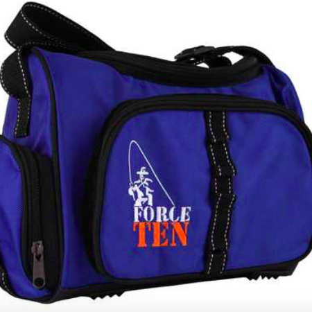 SOFT TACKLE BAG WITH 4 TACKLE BOXES