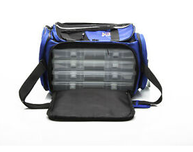 FORCE TEN LARGE SOFT TACKLE BAG PLUS 4 TACKLE TRAYS