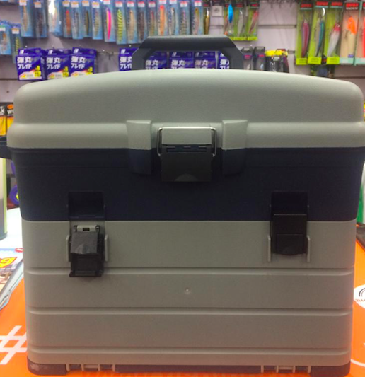 TOUGH TACKLE BOX WITH 3 LARGE TRAYS