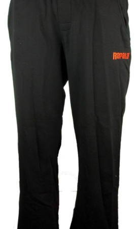 RAPALA MENS BLACK TRACK PANTS - LARGE ( SIZE 38 ) ONLY AVAILABLE