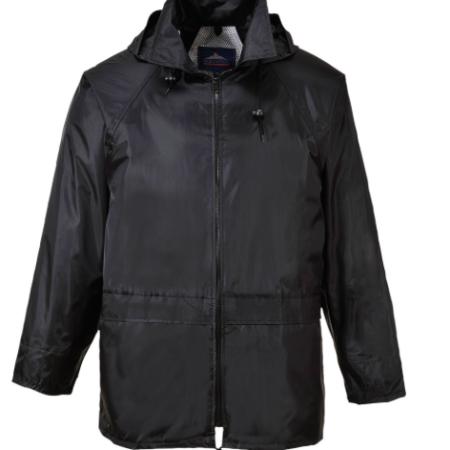 PORTWEST CLASSIC ADULT RAIN JACKET BLACK